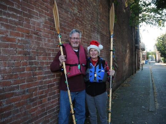 Jim and Karen Craven at the Statesman Journal's Holding