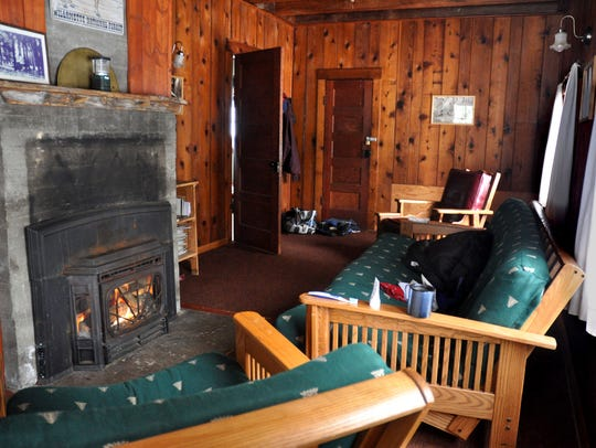 Hall House at Fish Lake rents for $75 a night and sleeps