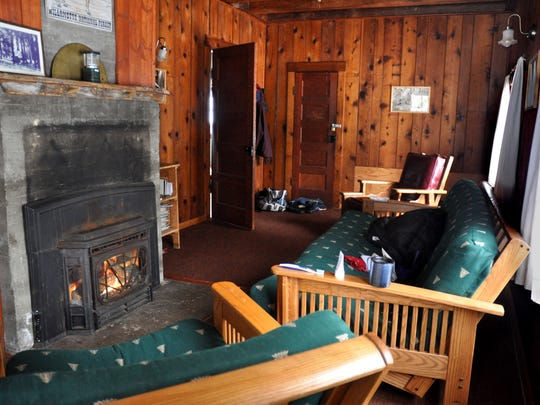 Hall House at Fish Lake rents for $75 a night and sleeps four.