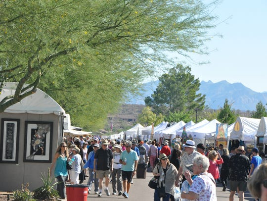 The Great Fair of Fine Arts and Crafts takes place