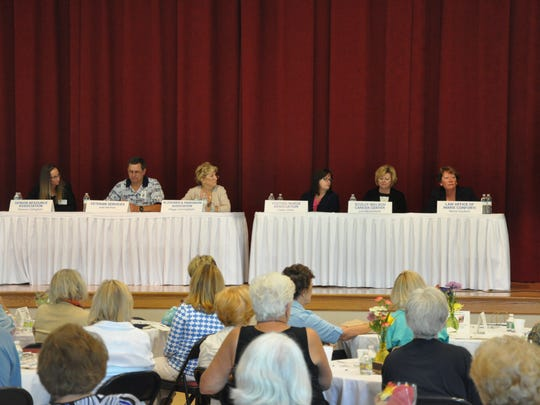 Caregiver Conference panel taking questions from the audience.