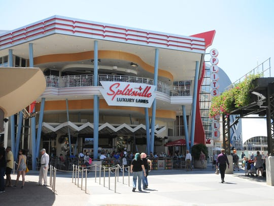Strike! Splitsville is the luxury bowling center in