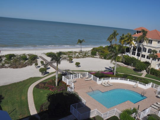 Many of the rooms have Gulf, beach, pool and garden