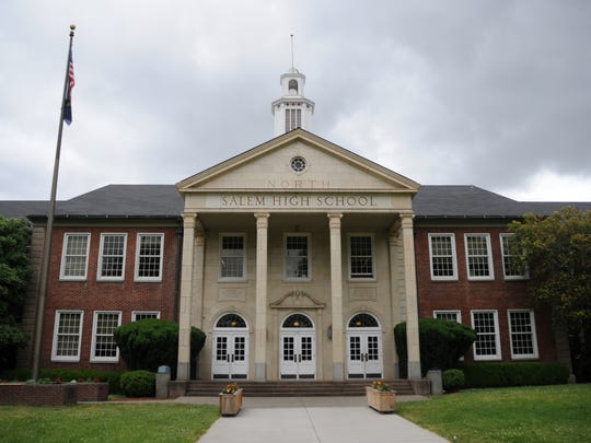 North Salem High School, photographed June 12, 2017.