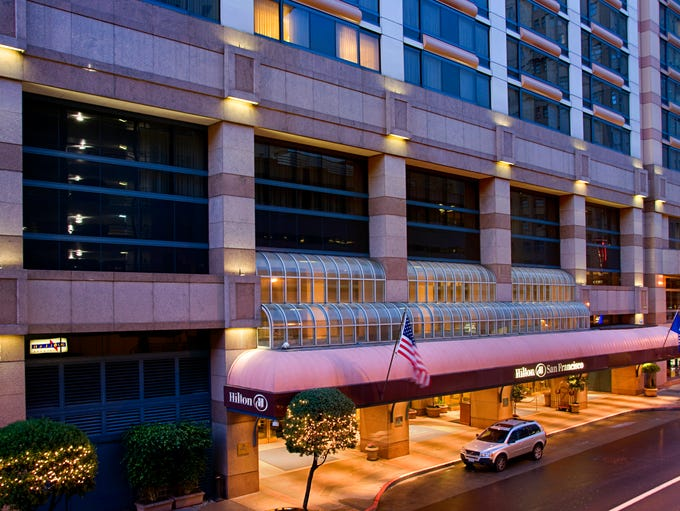The Hilton San Francisco is the 20th most popular hotel