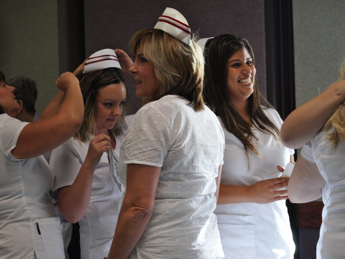 Eight New Mexico State University Carlsbad nursing