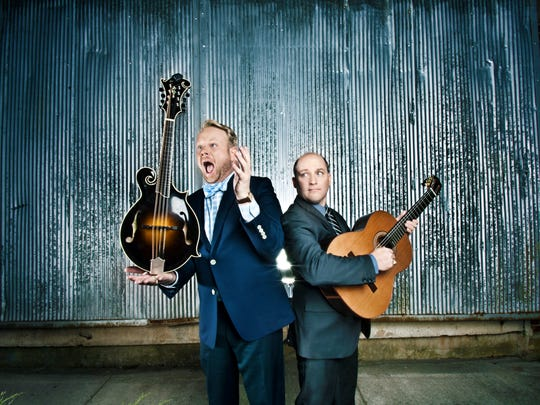 Jamie Dailey (left) and Darrin Vincent have put their own mark on bluegrass, country and gospel music.