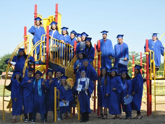 Carlsbad High School senior walk