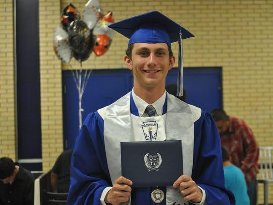 ECHS graduate Austyn Chester