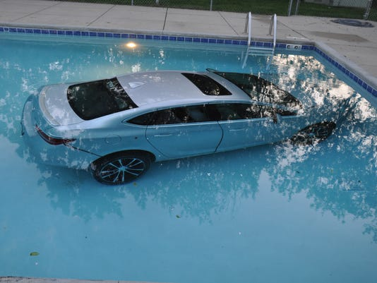 Car ends up at bottom of waukesha apartment pool in mishap - According to jim the swimming pool ...