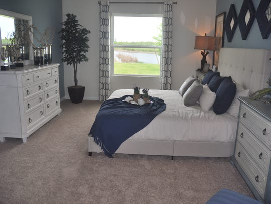 The three-bedroom, two-bath Hamilton spans 1,554 square