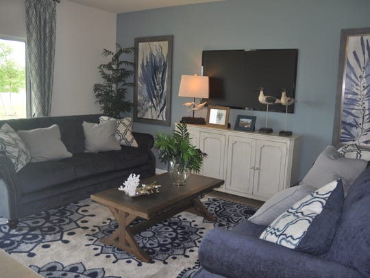 Express Homes offers six home designs in Town Lakes.