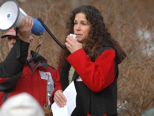 West Milford Mayor Bettina Bieri joins environmentalists