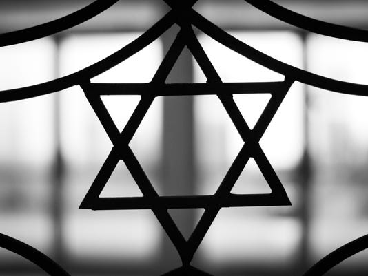 The Star of David signifying Jewish religion