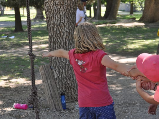 Camp Corazon opened six years ago and helps kids between ages 7 through 18 process grief through sharing circles, skits and team projects. This year is the first time the traveling camp was hosted in Carlsbad.