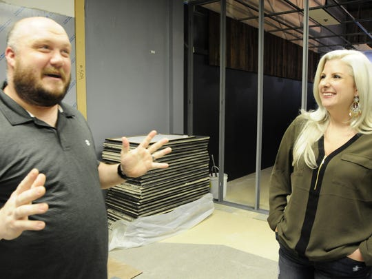 James and Casey Pecor talk about opening a barbecue restaurant in St. Clair.