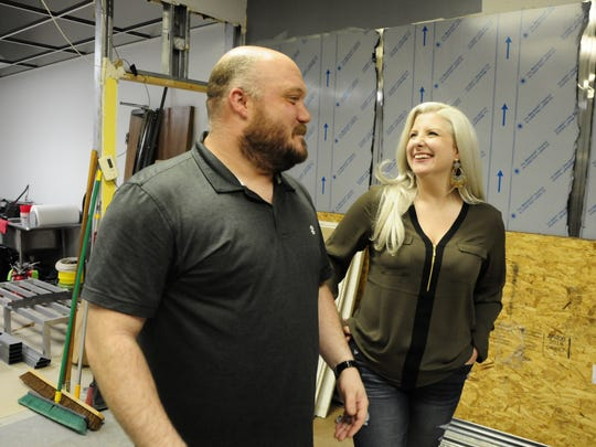 James and Casey Pecor are opening Black & Blue Barbecue in St. Clair.