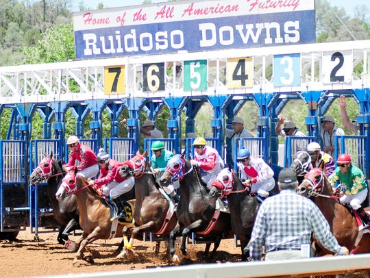 The horse racing season at Ruidoso Downs Racetrack