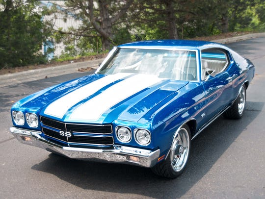 A classic 1970s Chevrolet Chevelle that a Michigan