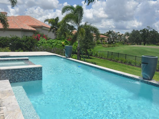 The Beechwood offers a pool and spa with water features.