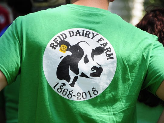 A T-short marks 150 years of of the Reid Dairy Farm