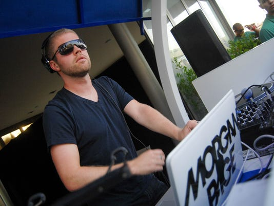 DJ Morgan Page at W Scottsdale July 4th