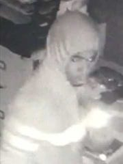 Surveillance footage captured a Fillmore restaurant burglary reported early Sunday.