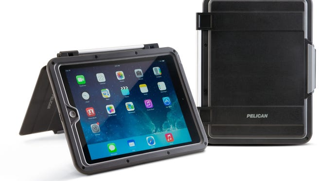 Pelican's ProGear Vault CE3180 case is designed to fit both the new iPad mini with Retina display and the original iPad mini. It essentially provides a suit of armor; it is watertight and drop-tested to ensure the device can handle an active lifestyle, anywhere. (Pelican/MCT)