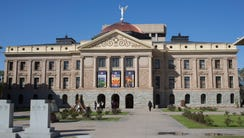 The Arizona Capitol.