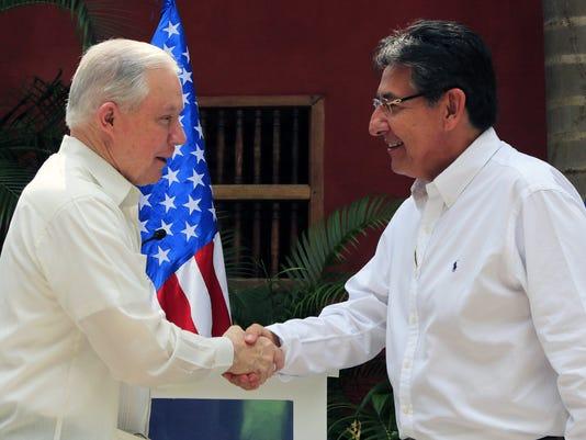 EPA COLOMBIA USA MEXICO SUMMIT CRIME POL DIPLOMACY COL BO