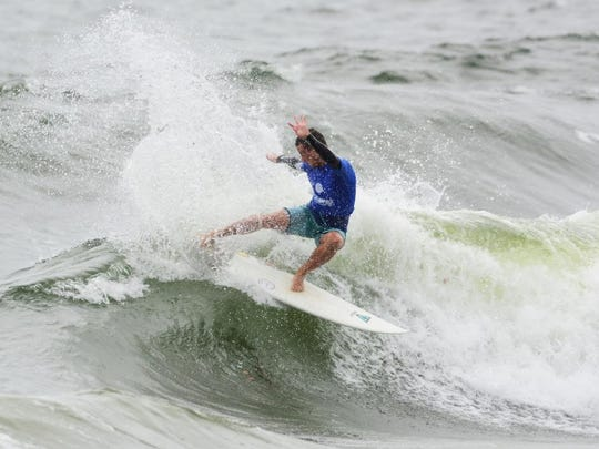 Chauncey Robinson, 20, of Melbourne Beach will be seeded ninth in the upcoming Beach N Boards WSL qualifying series contest this weekend.