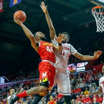 Maryland Terrapins guard/forward Dez Wells (44) drives