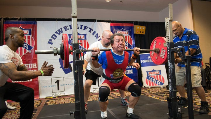 Age doesn't keep Michigan weight lifter from setting world records