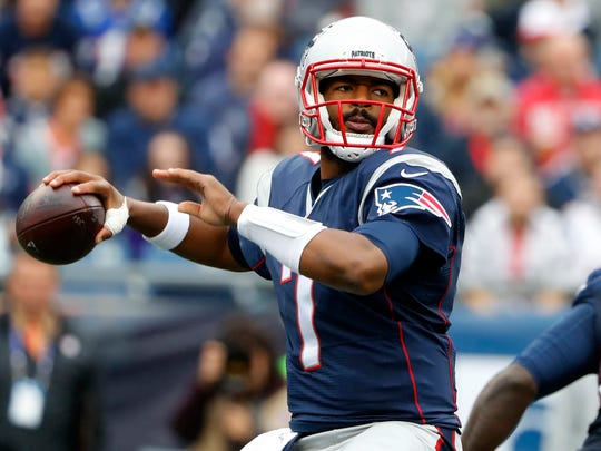 Jacoby Brissett comes to the Colts in exchange for Phillip Dorsett.