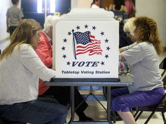 Registered voters have until 7 p.m. today, Nov. 6, to cast their vote in the midterm election.