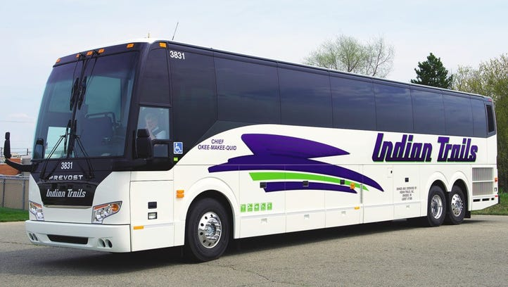 Indian trails has added five eco-friendly motocoaches