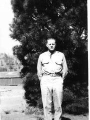 Alvin Madsen in his CCC uniform.