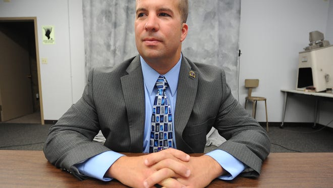 Fond du Lac Police detective William Ledger when he ran for Fond du Lac County Sheriff in 2014.