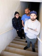 The local rock trio Cinematica will go back into the