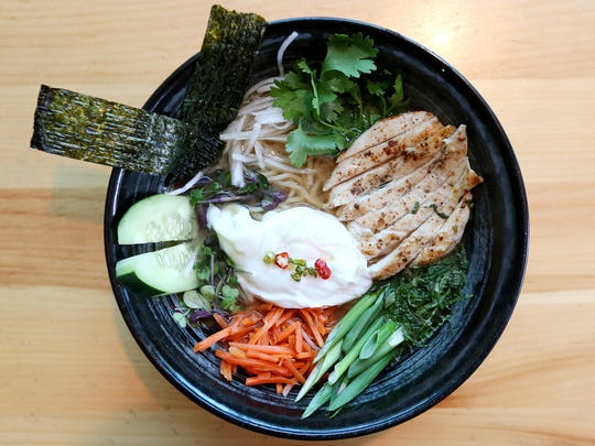 The Ramen at Table Five 08 features miso broth, Japanese