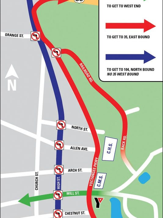 FIREWORKS TRAFFIC CHANGES