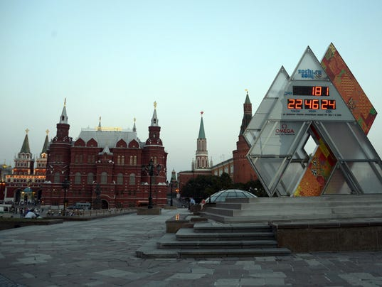 moscow winter olympics clock DON'T OVERWRITE