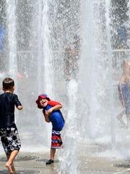 Worlds Fair Park fountains provided East Tennesseans