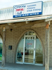 Pictured is the exterior of Cruces Total Golf on Thursday,