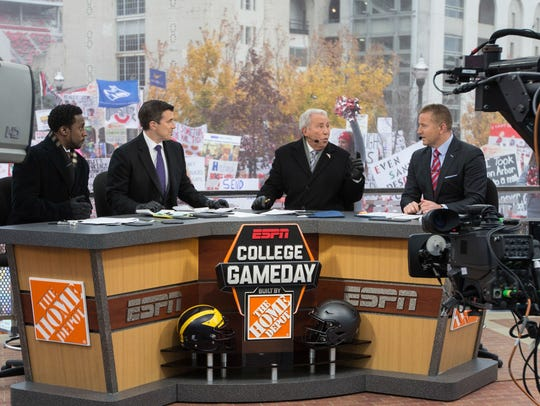 Nov 26, 2016; Columbus, OH, USA; ESPN College Gameday