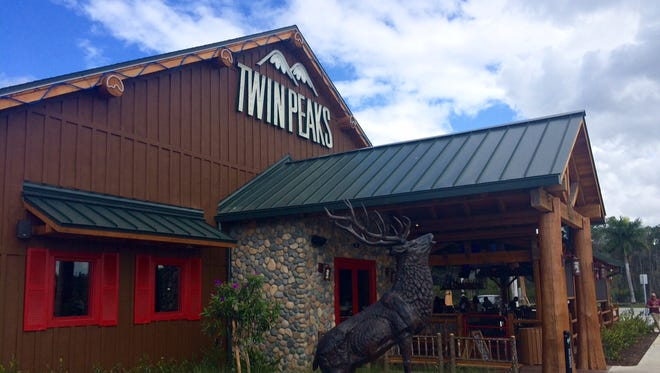 Twin Peaks opened last month at the corner of Ben Hill Griffin Parkway and Alico Road.