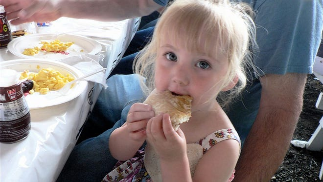 Young and old alike will enjoy the sights, smells and tastes associated with a dairy breakfast on the farm during June Dairy Month.