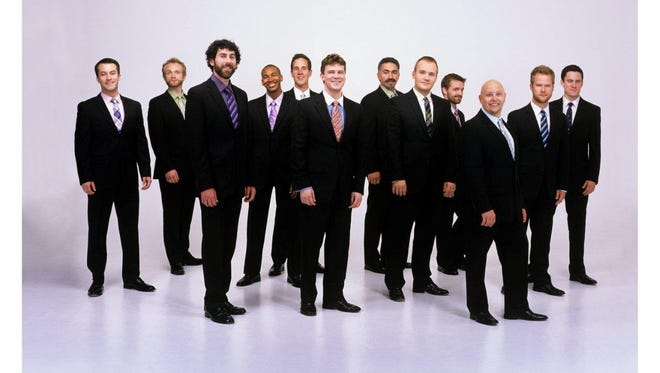 The San Francisco based Grammy winning Male Chorus, Chanticleer will be taking the satage at APSU's Mabry Music Hall this Sunday.