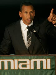"Alex Rodriguez says the University of Miami ""was like"