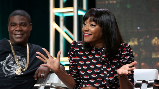 """""""In every interview you have to be humorous because you're considered a comedian, right?"""" Haddish said of her joke that she wanted to work with Bill Cosby. """"So I was trying to be humorous and maybe it was not the best joke,"""""""